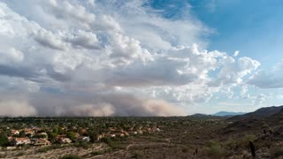 Massive Dust Storm Completely Engulfs City Of Phoenix - Video
