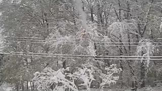 Massive Power Outage after this October Storm in 2011