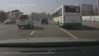 Car crashes  caught on  tape - Video