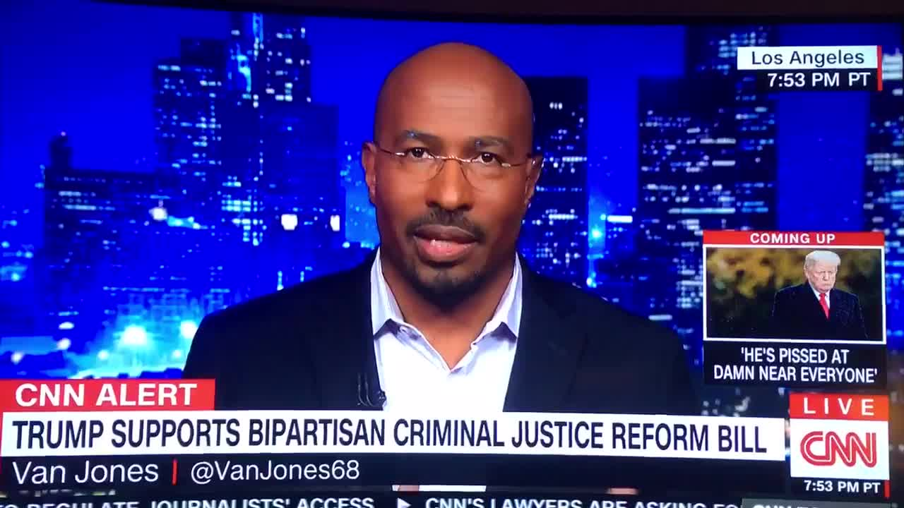 Michael Berry - Van Jones praises Trump for criminal justice reform efforts