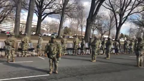 Military Turning their back on Biden