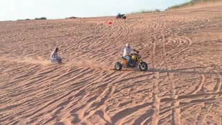 "Waynoka Sand Dunes "" RIDE THE LIGHTING"" part 2 - Video"