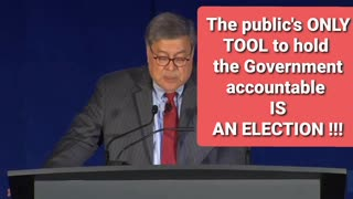 USAG BILL BARR ON ELECTIONS