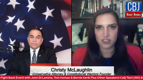 Conservative Attorney Christy McLaughlin Unleashes about Fighting for Conservative Values!