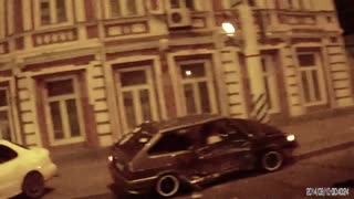 A Hard Hitting T-Bone Accident Captured by Russian Biker - Video
