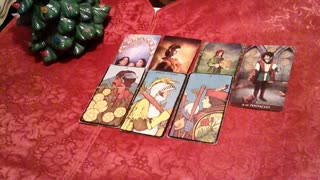 Cancer Christmas Tarot Deck the halls, Have Fun, Merry Christmas December 2020