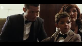 VIDEO: Leo Messi meets Cristiano Ronaldo son and kiss him! - Video