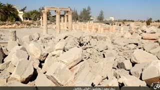 Syrian temple destroyed: Islamic State - Video