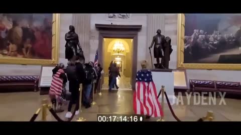 CNN Interviewee Breaks into Capitol With AntiFa