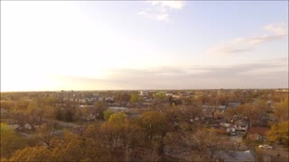 Drone Video From Central OKC