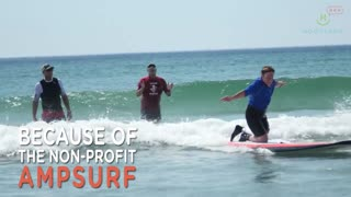 Amputees Find Freedom On A Surfboard - Video