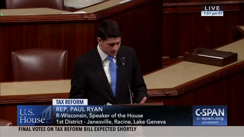 Paul Ryan Scorches Broken Tax Code for Punishing 'Hard Work' and Undermining the American Way