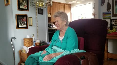 Grandma with Alzheimer's yodels