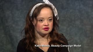 Woman with Down Syndrome stars in beauty campaign - Video