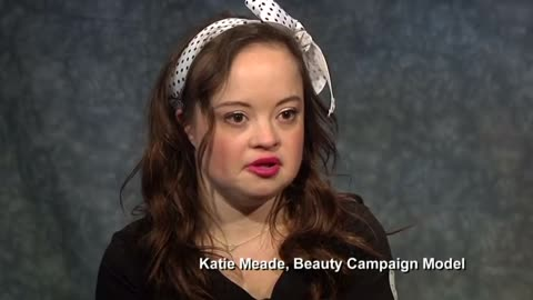 Woman with Down Syndrome stars in beauty campaign