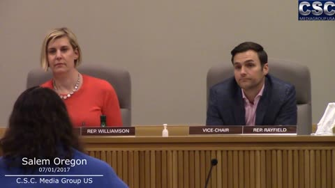 Republican Oregon Representative DESTROYS Pompous House Democrats In Salem Oregon