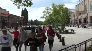 People Protest Mandatory Vaccinations At Oregon State University