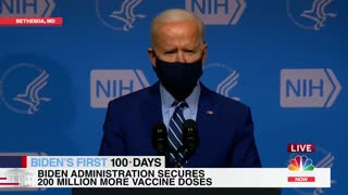 """PRESIDENT BIDEN: """"We've now purchased enough vaccine supply to vaccinate all Americans."""""""