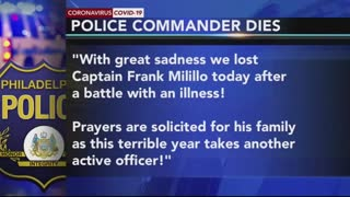 Two Philadelphia Police Officer Die from COVID related Medical Complications