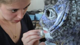 How Movie Makeup Is Made For Horror And Fantasy - Video