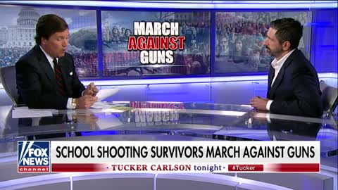 Tucker Carlson takes down gun control activist for attention on students in the debate
