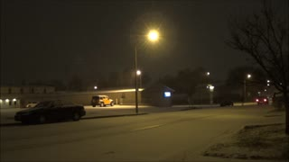 First major snowfall in the Dakotas - Video