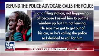 """Tucker Plays """"Defund The Police"""" Advocate, Calling The Police!!"""