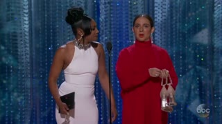 Maya Rudolph on Oscars getting to be black - Video