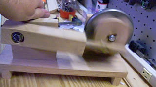 Oak Wobble Engine - First Run