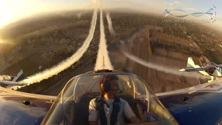 Incredible Cockpit View From Aerobatic Flight