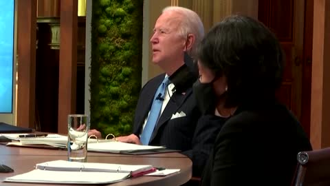 Climate action 'bringing our countries closer together' -Biden
