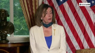 Pelosi accuses Trump of 'fanning' flames of division