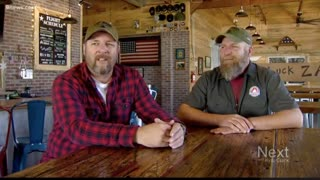 Veteran Brothers Brewery Toasts to the Military Every Day, But for Christmas They Added an - Video