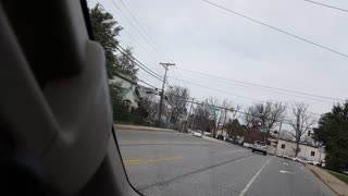 Police Chase In Maryland - Suspect Apprehended - Video