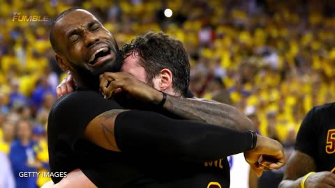 LeBron James STUFFED by Kevin Durant, Steph Curry & Klay Thompson RAIN 3s as Warriors Dominate Cavs