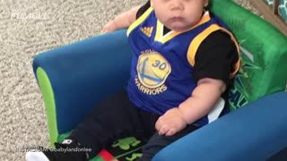 Meet Stuff Curry, The Chubby Baby Version of Stephen Curry - Video