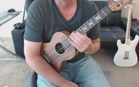 Ukulele tab preview for Randy Newman's