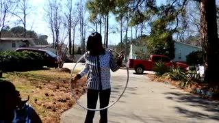 hula hoop neck  - Video