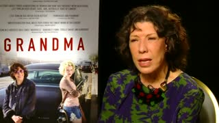 """Grandma"" star Lily Tomlin on older women in film - Video"