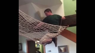 The Worst Place to Hang A Hammock - Video