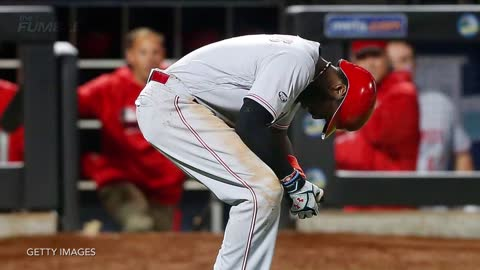 Cincinnati Reds' Brandon Phillips Has One of The Most Painful At Bats