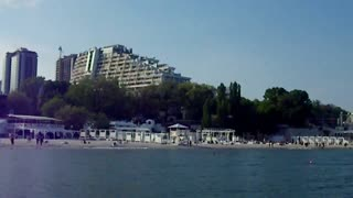 Arkadia Beach in Odessa, we checked operation of Apple Ipad 2 with 3G. It works! - Video