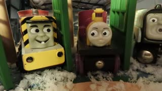 Thomas & Friends the Christmas Carol on the Wooden Railway