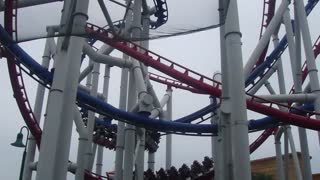 Will You Dare To Ride This Scary Roller Coaster? - Video
