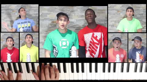 One man aca-piano cover of Furious 7's 'See You Again'