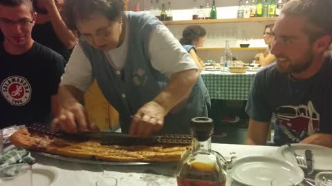 Granny serves this amazing dessert near Barcelona for one of the last times ever