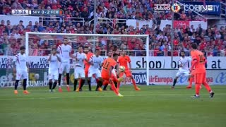 Neymar Amazing Free Kick - Slow Motion - Video