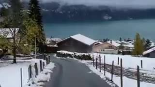 Winter wonderland in Switzerland