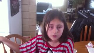 Girl Has Hilarious Reaction To Getting Justin Bieber Tickets - Video