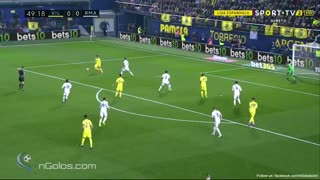 Golazo de Trigueros vs Real Madrid